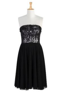 eShakti Womens Perfect opposite strapless dress 6X 36W