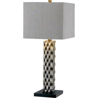 Mayfield 30 inch Aged Silver Finish Table Lamp