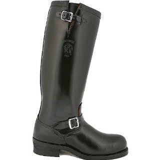 Chippewa Mens 17 Polishable Engineer boot Steel Toe Shoes