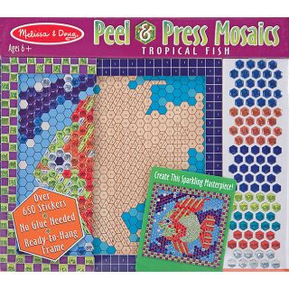 Peel & Press Tropical Fish Sticker By Number