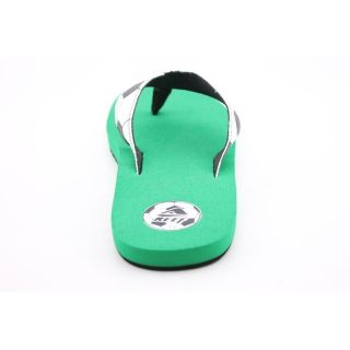Reef Womens Futbol Goooaaal White Sandals (Size 13)