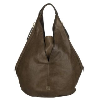 Givenchy Tinhan Large Brown Leather Hobo Bag