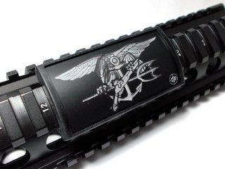 U.S. Navy SEAL Trident Large Laser Engraved Aluminum (LEA