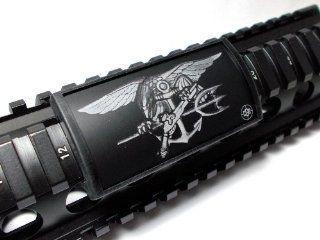 U.S. Navy SEAL Trident Large Laser Engraved Aluminum (LEA