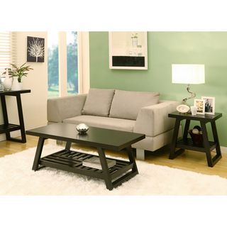 Celine Rectangular Coffee Table with End Table Set