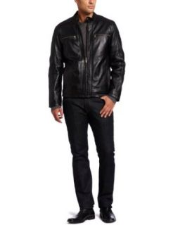 Marc New York by Andrew Marc Mens Boston Rugged Lambskin