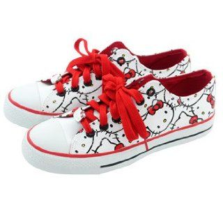 Hello Kitty Shoes Faces/White Toys & Games