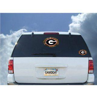 Georgia Bulldogs 12 Plain Camo Decal: Sports & Outdoors