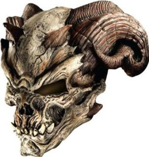 Cave Demon Mask Adult Size One Size Clothing