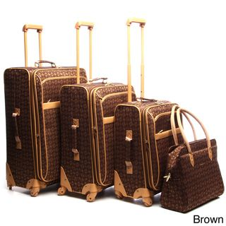Pierre Cardin Revolution 4 piece Spinner Luggage Set