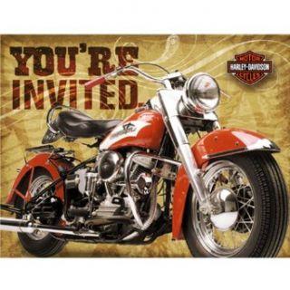 Harley Davidson Invitations Clothing