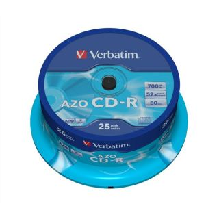 Verbatim CDR 80 min 52x (25)   Achat / Vente CD   DVD   BLU RAY VIERGE