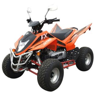 Quad Kor Moto Nitro 49,9cc Auto   2 temps   Coloris  orange