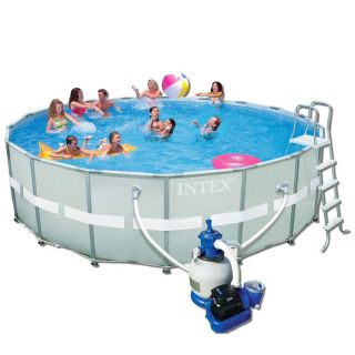 Piscine INTEX ULTRA FRAME tubulaire 5.49x1.32m   Achat / Vente KIT