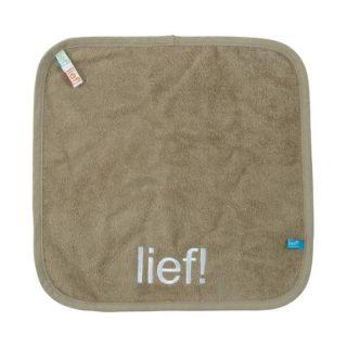 Débarbouillette Bebe jou 32 x 32 cm Lief sable   Achat / Vente