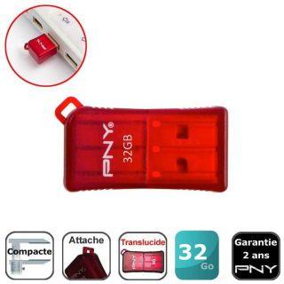 32 Go   Acha / Vene CLE USB PNY Micro Sleek Aaché 32 Go