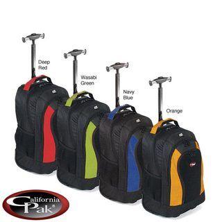 CalPak Element Unisex 18 inch Rolling Lightweight Laptop Backpack