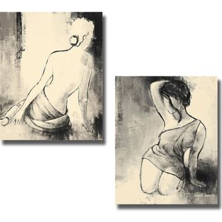 Lanie Loreth Figurative Woman I and II 2 piece Canvas Art Set