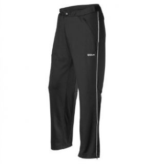 Wilson Mens Flinders Knit Pant   Black/White (LG) Sports