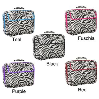 World Traveler Zebra Designer Print 17 inch Laptop Computer Case MSRP