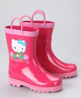 Sanrio Hello Kitty Girls Pink Rain Boots (Toddler/Little Kid) Shoes