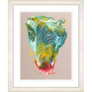 Studio Works Modern Yellow Flower Bud Framed Print