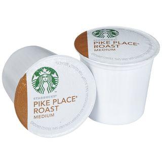Starbucks Pike Place Roast Coffee 96 K Cups for Keurig Brewers