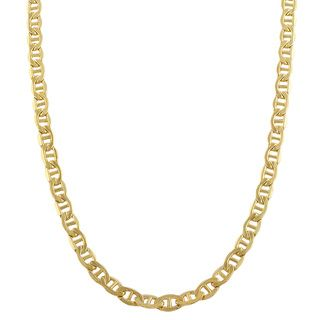 Fremada 14k Yellow Gold filled Mariner Link Chain Necklace (18 36 inch