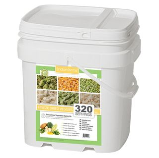 Lindon Farms 320 Serving Freeze Dried Vegetables Food Storage Kit