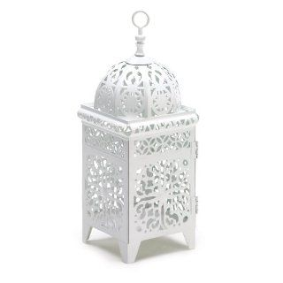 50 White Moroccan Candle Lantern Wedding Centerpieces