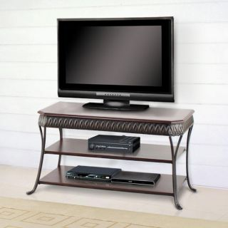 Sahara 42 inch Middleton Brown Dark Walnut TV Console