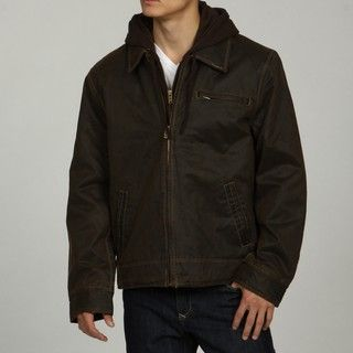 Columbia Mens Brown Hooded Coat