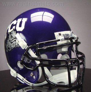 TCU HORNED FROGS Football Helmet