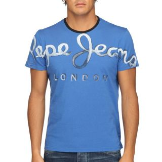 PEPE JEANS T Shirt Homme Bleu   Achat / Vente T SHIRT PEPE JEANS T