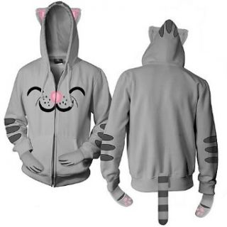 Big Bang Theory Soft Kitty Mens Zip Hoodie Clothing