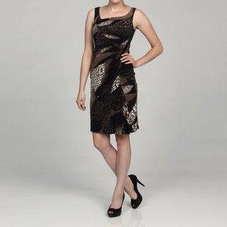 Jessica Simpson Womens Animal Print Inspired Dress