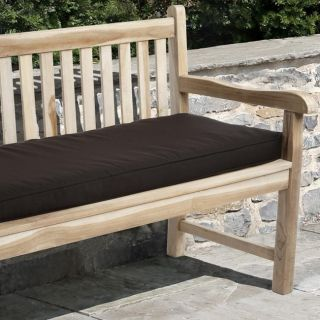 Clara 48 inch Outdoor Brown Bench Cushion Made with Sunbrella