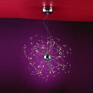 Joshua Marshal Home Collection Medusa 15 light Chrome Crystal