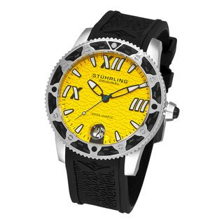 Stuhrling Original Mens Regatta Weekender Swiss Quartz Watch