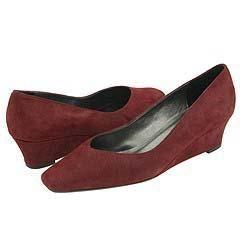 Vaneli Amira Dark Red Ras Kid Pumps/Heels