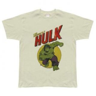 Incredible Hulk   Charging Soft T Shirt   Large Clothing