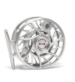 New Hatch 3 Plus Finatic Fly Fishing Reel Red/silver
