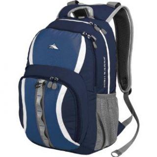 High Sierra Garrett Backpack, Blue Velvet/ Pacific/White