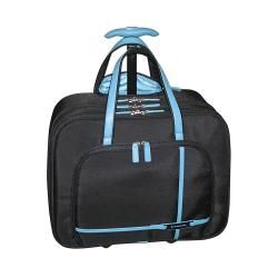 Buxton Trans Atlantic Rolling Laptop Tote