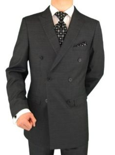 Presidential Suit Italian Style Double Breasted Mens Suit