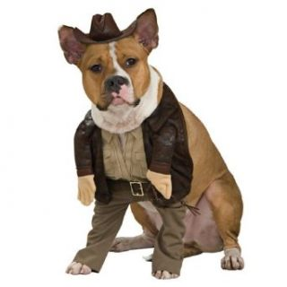 Indiana Jones Indiana Pet Costume   X Large   Pet Costumes