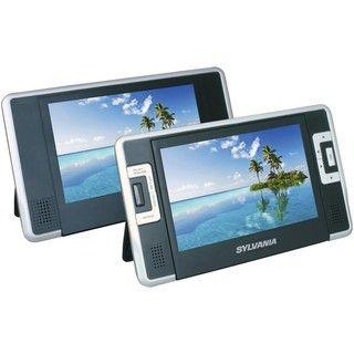 Sylvania SDVD8732 7 inch Dual screen Portable DVD Player