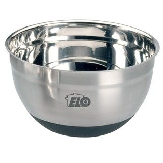 Elo 5 quart Nonslip Stainless Steel and Silicon Rubber Mixing Bowl