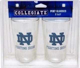 Notre Dame Fighting Irish Pint Glass