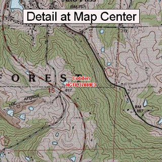 USGS Topographic Quadrangle Map   Cobden, Illinois (Folded
